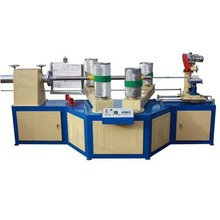 High speed and less noise four- head paper cone machine