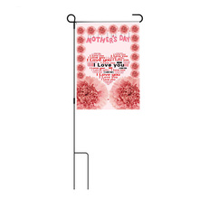 2018 new design gift 30x45cm seasonal garden flag