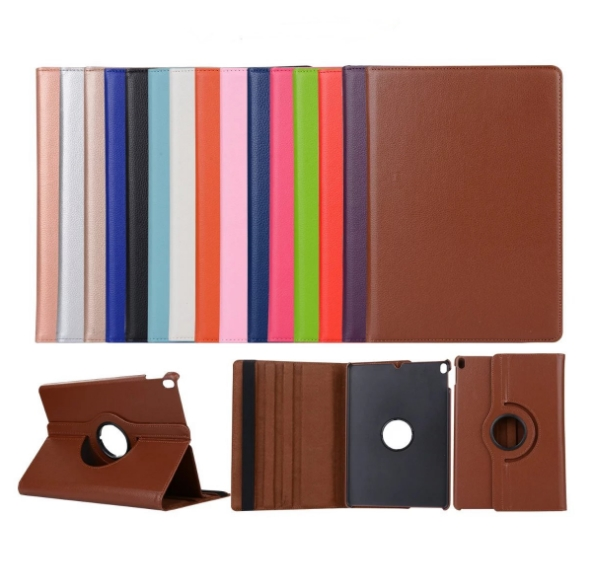 360 degree PU leather case cover for iPad pro 9.7 / 10.5 /12.9 inches case