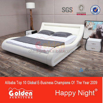 2016 Latest desgin cheap price led bed G1015