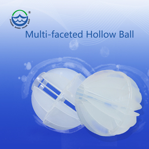Plastic Multi-faceted hollow ball or Multi-aspect hollow ball or Polyhedral hollow ball
