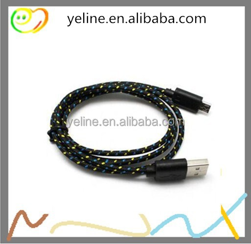 Wholesale Micro 8 pin usb y cable, usb sync data cable