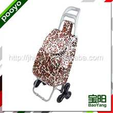 portable luggage trolley cart click wheeled go cart
