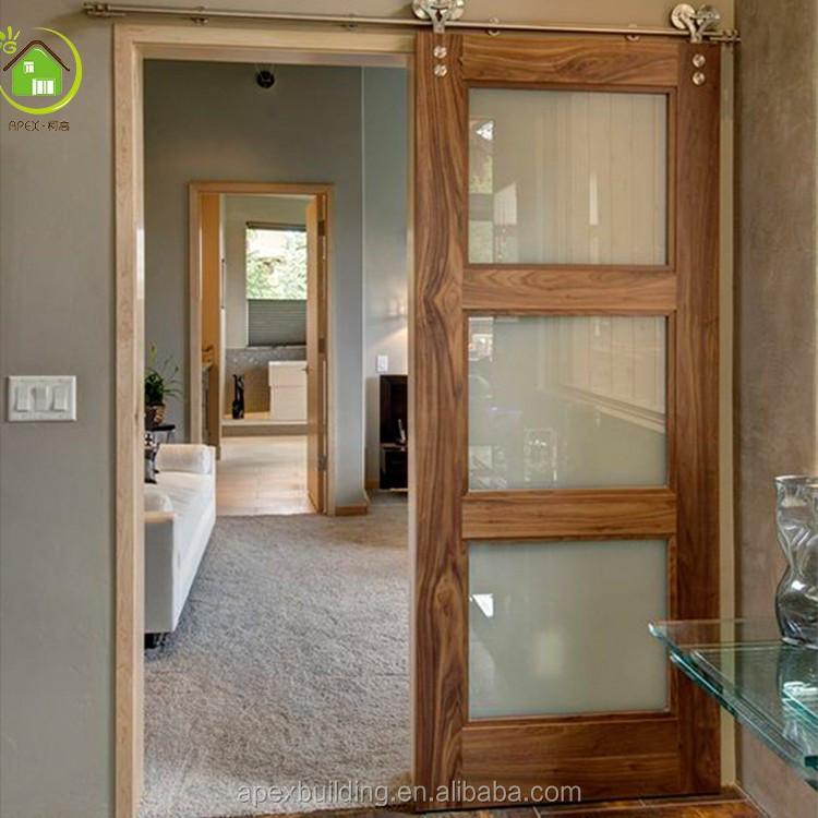 Interior Glass Sliding Barn Doors Buy Barn Doorinterior Glass