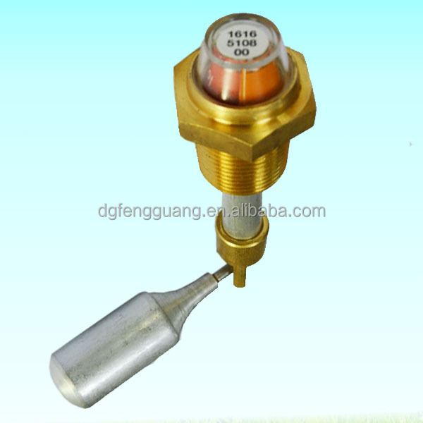 oil sight glass/oil level indicator/air compressor sight glass oil level indicator