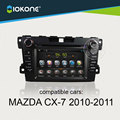 Hot selling 2din 7'' touch screen Car Radio For Mazda CX 7 2010 2011 2012