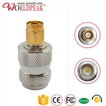 N type female to RP SMA male rf coaxial cable connector adapter