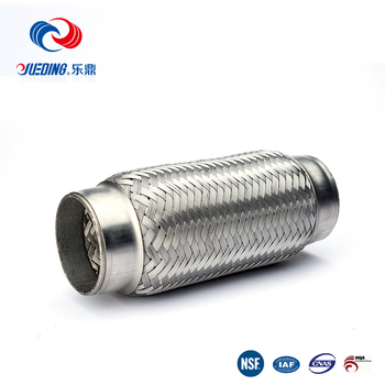2017 most popular stainless steel motorcycle flex pipe