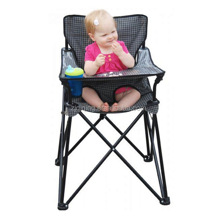Hot selling child folding chair, camping baby chair, high chair for baby feeding JF-01-1