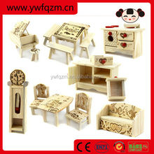 Wholesale Kids Wooden A Set Of Furniture Toys