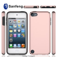 Wholesale Lightweight Hybrid Shock Absorbing Protective Case for iPod Touch 5 Mobile Phone Case TPU