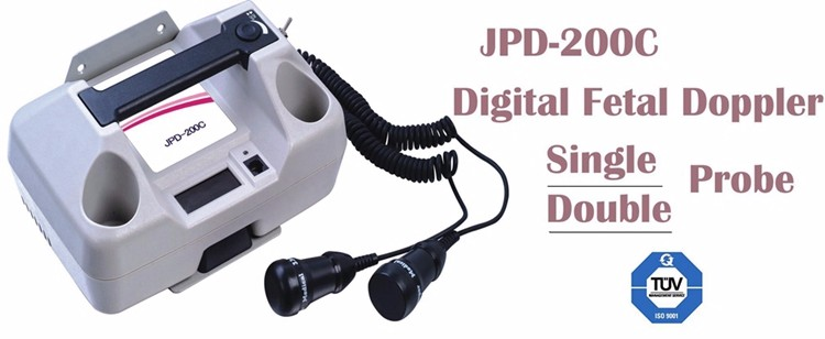 Jumper Medical Dual Probe Ultrasound Baby Heart Monitor Cheap Fetal Doppler Monitor Price