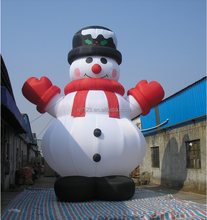 Giant outdoor advertising inflatable snowman Christmas cartoon inflatables