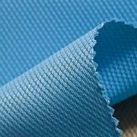 100% polyester PVC coating oxford fabric
