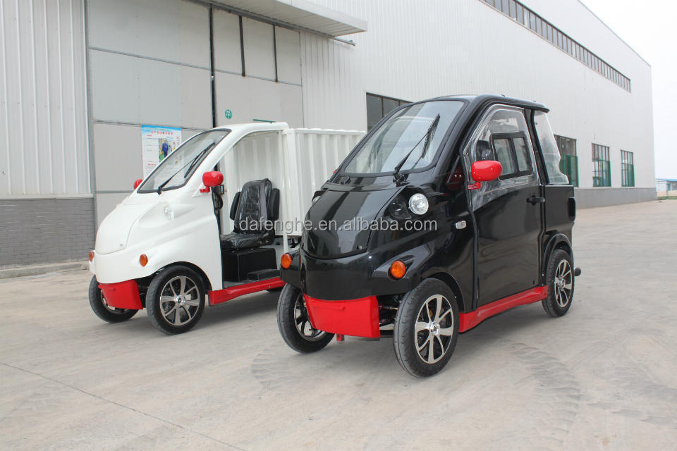 EEC approval China electric car mini 2 seats for promotion