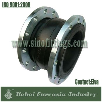 Carbon Steel Flange Type Bridge Rubber Expansion Joints