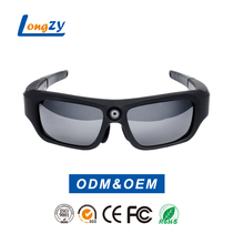 Excellent hd polarized sunglasses mini camera with remote control