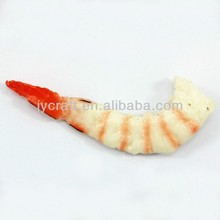 High quality fake food plastic shrimp for decoration