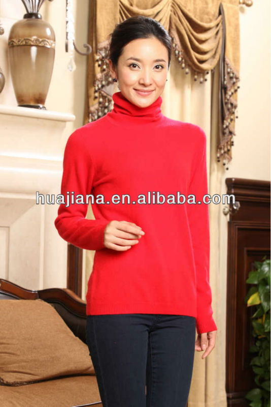Simple women sweater 2013/ 100% cashmere
