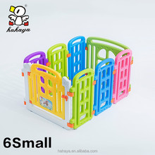 Assembling OEM Kids plastic fence|European Standard baby playpen fence for Indoor and Outdoor