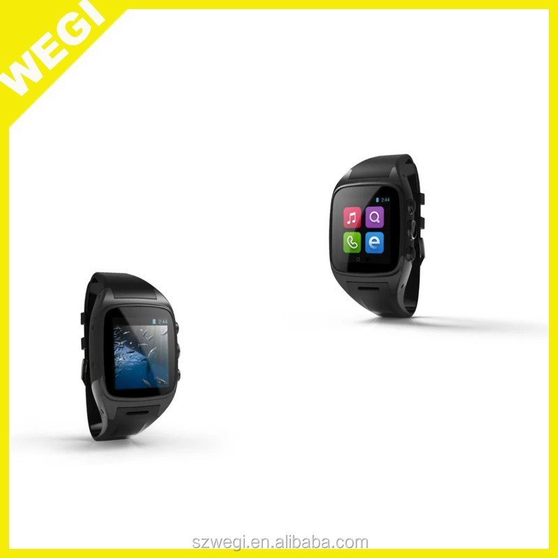 SIM+GPS+3G+WiFi+GPRS+1G RAM+8G ROM+CAMERA Smart Watch M8 support Android 4.4 Dual Core CPU bluetooth smartwatch phone for iphone
