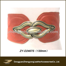 Big buckle designer leather belts,big buckle belt