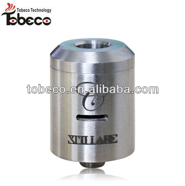 2014 New arrival stainless stingray mechanical mod/stillare clone atomizer/quasar