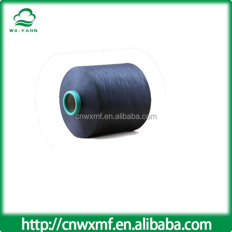 Item WX-00623 Produce pvc coated polyester yarn,polyester yarn waste,100% cotton yarn