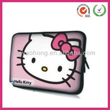Nice hello kitty kids fitness neoprene laptop bags (factory)