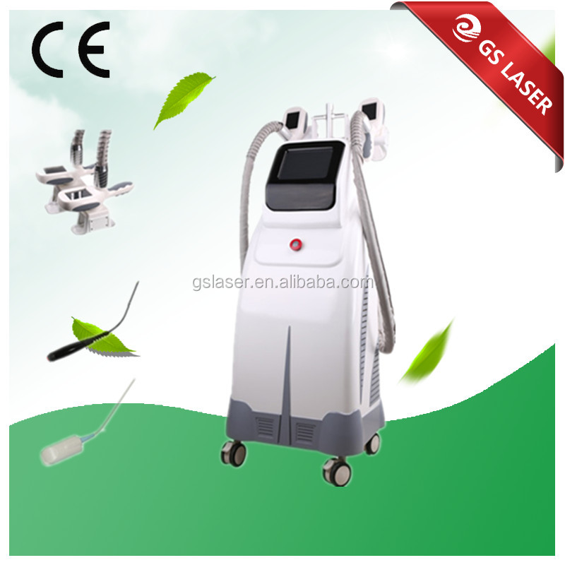 3 in 1 multifunction cryolipolysis device / Cryo + RF + Cavitation fat reduction machine for salon use