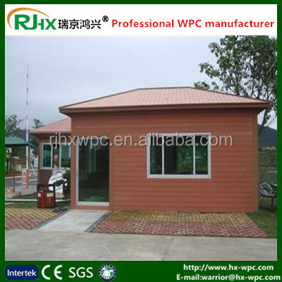 Small house for garden/prefab houses made in china//houses made of recycled material
