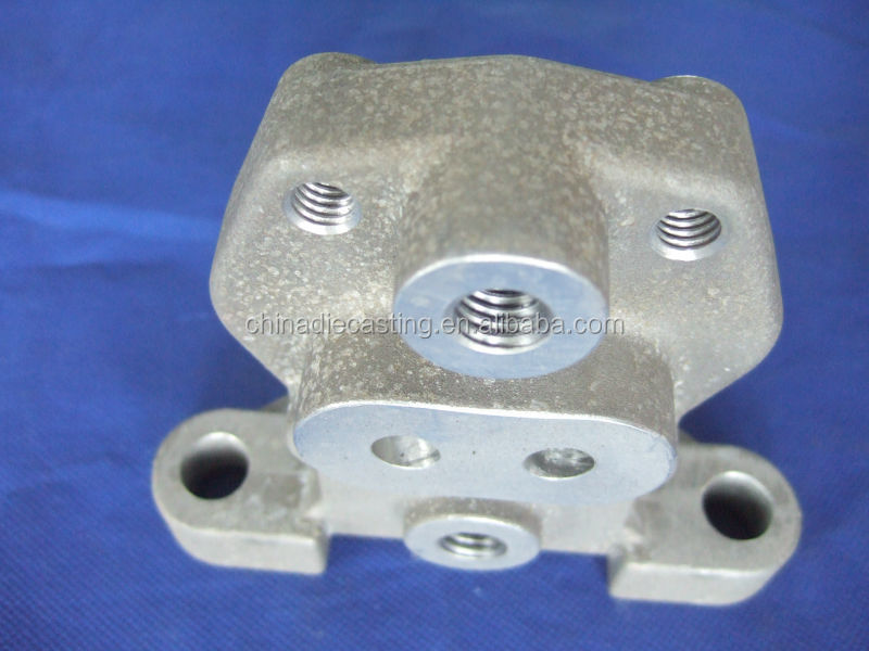 OEM China Shandong new design aluminum alloy die casting railway parts foundry