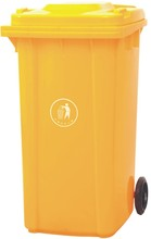 240L waste classifications/cardboard dustbin/animal fecal container