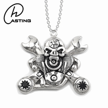Custom Hip Hop Jewelry Steampunk Findings Charms Men Pendant