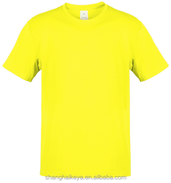 Bottom price manufacture men 100%cotton t-shirts