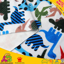 26% off MOQ 10MTS Europe 2016 fashion Oeko Tex 100 customized designs print fleece fabric for baby MP20151128008