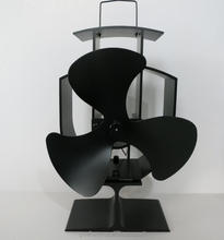 Innovative heat powered stove fan 2 blade 3 blade 4 blade 5 blade 6 blade oscillating fan