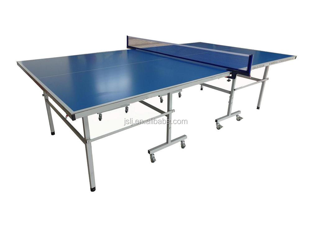D9806 waterproof double fish ping pong table,used ping pong tables for sale,ping pong table price for outdoor
