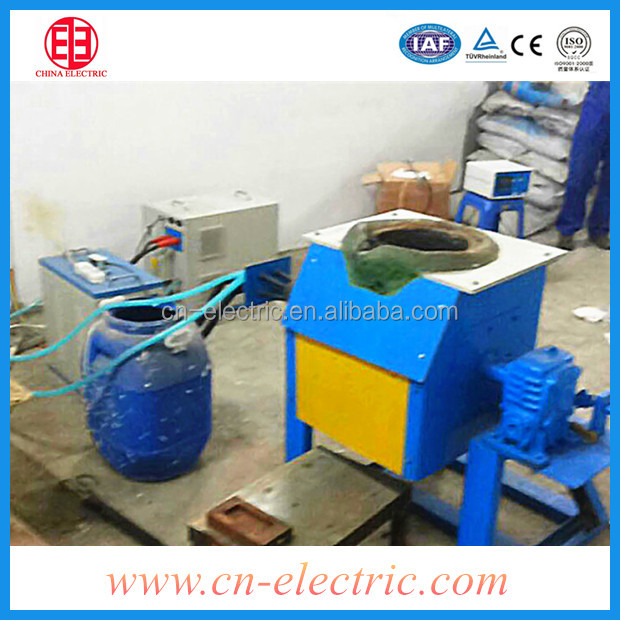 Small Cast iron induction smelting furnace/oven