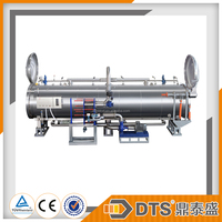 automatic bottles usage food processing machine sus304 double door autoclave sterilizer suppliers