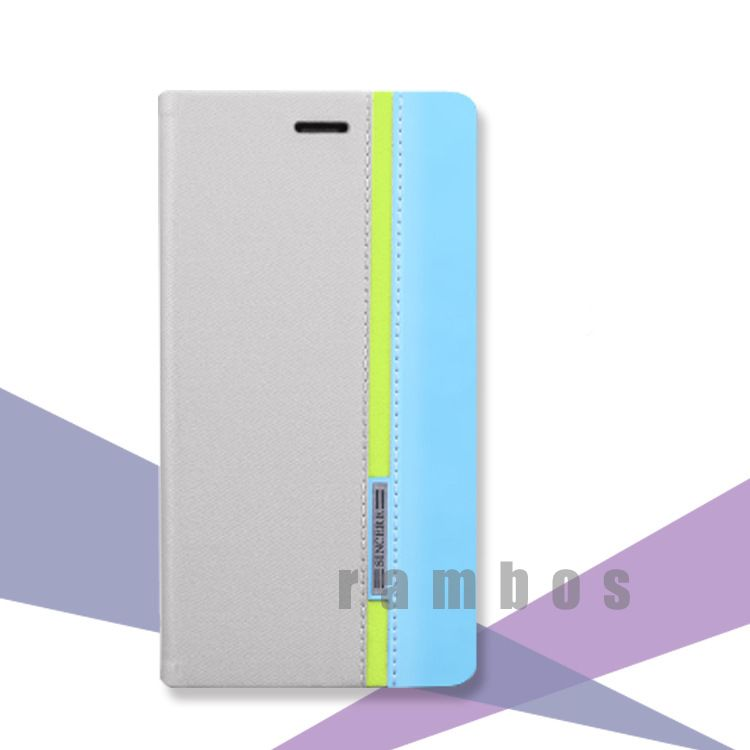 PU Leather Wallet Flip Mobile Phone Case Cover for Lenovo P770