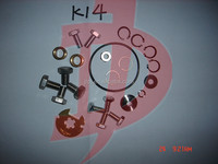 Turbocharger overhaul kits K14 turbo rebuilt kits for citroen,pug calibra