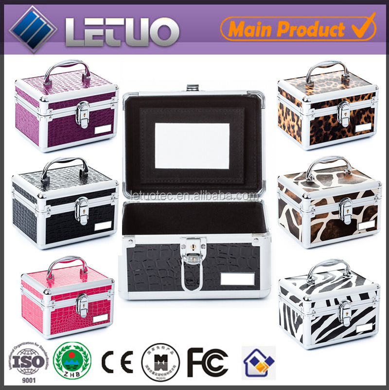 discount beauty box vanity case/glamour case/beauty case