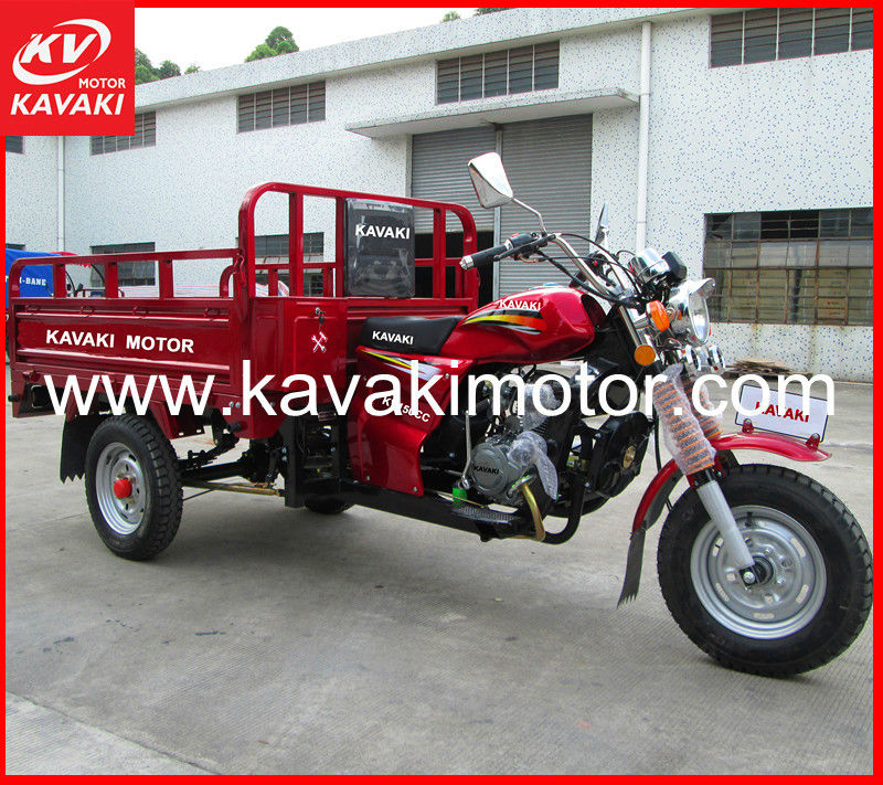 Factory sales Red WY Style Three Wheels China Sidecar/Motor bike For Goods