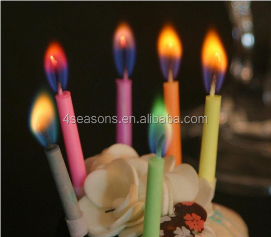 Romantic Coloured Flame Birthday Candle smart flame candle birthday candle birthday candle wholesale