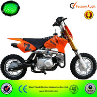 China 2014 new 70cc,air-cooled Mini 70cc Cheap Kidcross Dirt Bike