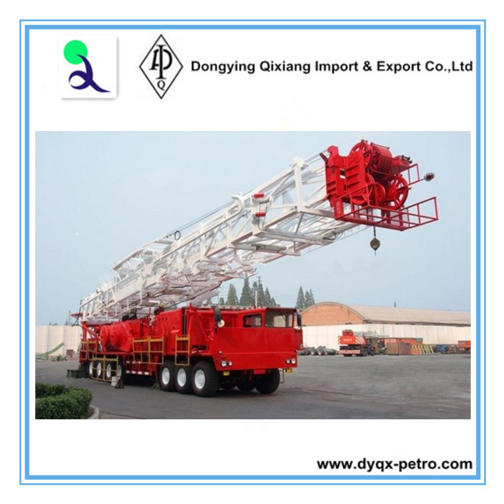Hot Sale!! Z40 Truck Mounted Oil Drilling Rig