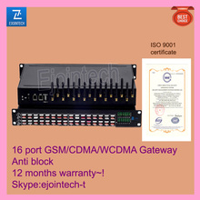 Made in china 16 port VOIP gateway, smart phone