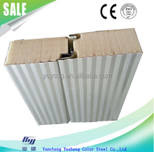Newly design polyurethane foam sandwich panel for wall/roof/ceiling