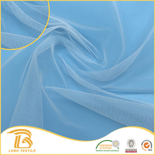 Wholesale Factory soft 100% nylon Tulle decoration mesh Fabrics for Dress Lining